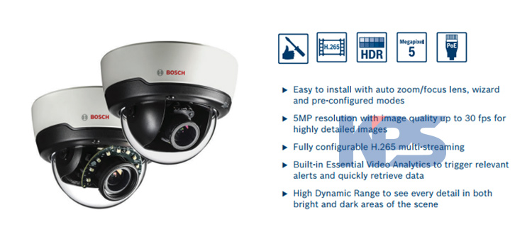 Camera-Flexidome-IP-Indoor-5000I