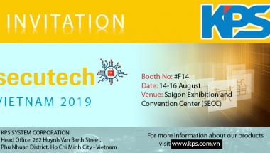 SECUTECH VIETNAM 2019 - KPS